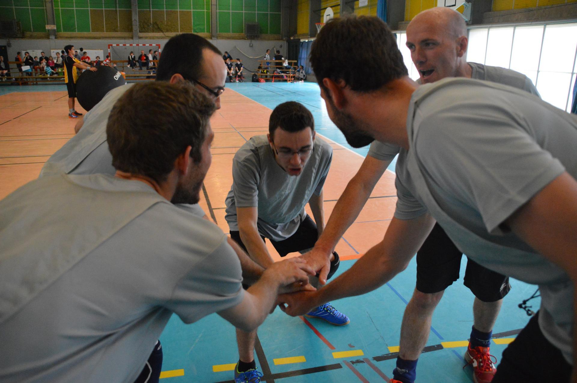 L'équipe masculine